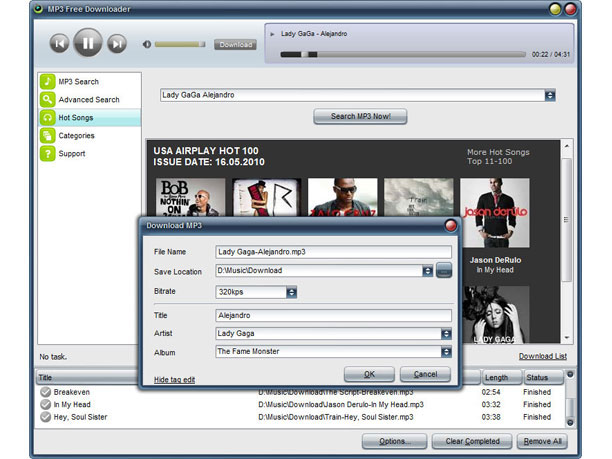 MP3 Free Downloader 2.5.9.2