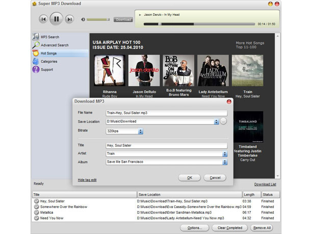 Super MP3 Download 4.5.9.6
